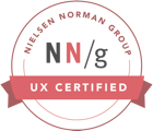 UX Certified by Nielsen Norman Group